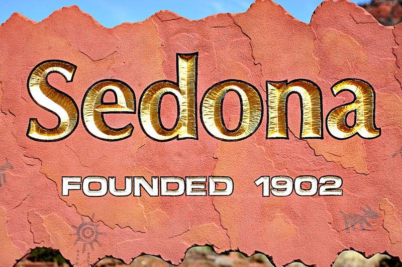 Sedona sign